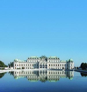 Österreichische Galerie Belvedere Museum housed in the Belvedere Palace, in Vienna, Austria