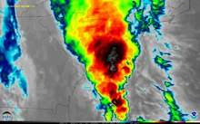File:October 2015 South Carolina flood infrared satellite animation.webm