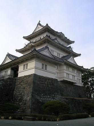 Siege of Odawara (1561) - One corner tower of Odawara Castle today