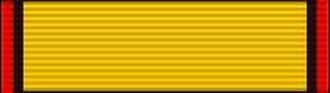 Order of the Star of Hornbill Sarawak - Image: Officier van de Orde van de Ster van de Neushoornvogel van Sarawak Baton