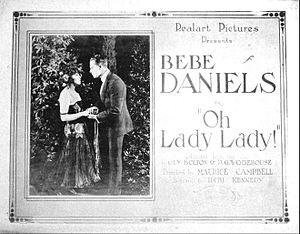 Oh, Lady, Lady - Lobby card