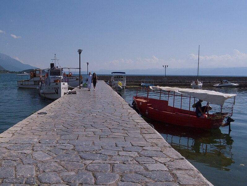 Datei:Ohrid Pristanište.jpg