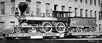 Atlantic, Mississippi and Ohio Railroad - Image: Old 4 4 0