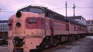 ALCO DL-109 - Image: Old Maude in 1958