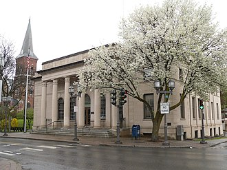 Oscar Wenderoth - Image: Old Post Office Oneonta NY Apr 10