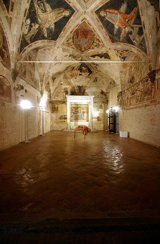 Old Sacristy - Santa Maria della Scala - Siena 2016