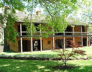 Nacogdoches, Texas - Old Stone Fort Museum in Nacogdoches, On The SFASU campus