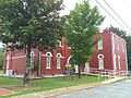 Old Tishomingo County Courthouse Iuka MS SW side.jpg