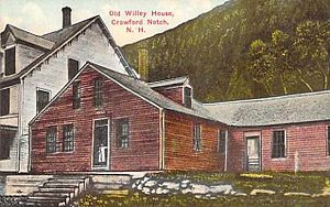 Hart's Location, New Hampshire - Old Willey House (1793-1898)