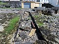 Old rails on slipway, Gourock sea front, Inverclyde, Scotland.jpg
