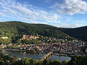 Old town of Heidelberg, Heidelberg Castle and Old Bridge.jpg