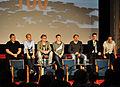 Oliver Kalkofe, Philipp Walulis, Tobias Klose, Darkviktory, Ralph Ruthe, Holger Kreymeier, Lars Golenia (v.l.n.r.), 2012.jpg