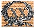 Onderscheidingsteken voor langdurige dienst als officier der Schutterij 20 jaar.jpg