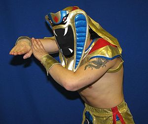 Ophidian (wrestler) - Ophidian in a 2010 promo photo