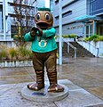 Oregon Duck in Front of Matthew Knight Arena (2) (39097488071).jpg