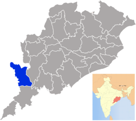 Localisation de District de Nabarangpur