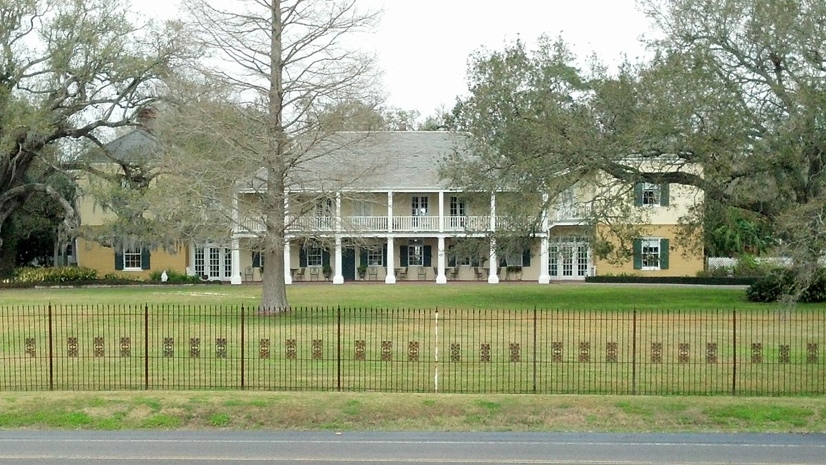 French Plantation Style House