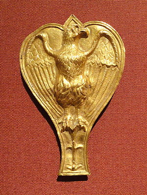 Aquila (Roman) - Roman ornament with an aquila (100–200 AD) from the Cleveland Museum of Art.