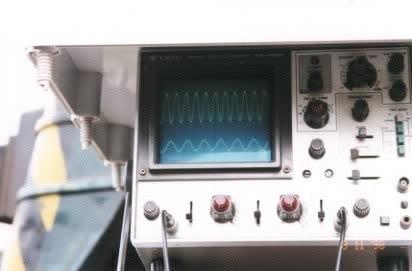 Osciloscopio locomotora