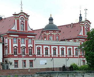 Ossolineum - Image: Ossolineum Wroclaw 1