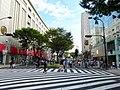 Otsu-dori Pedestrian precinct in front of Apple Store Nagoya Sakae - 1.jpg