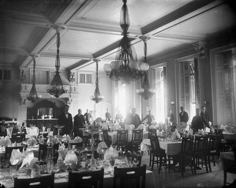 Ottawa Russell House Dining Room 1884