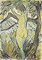 Otto Mueller - Stehender Akt in Baum.jpeg