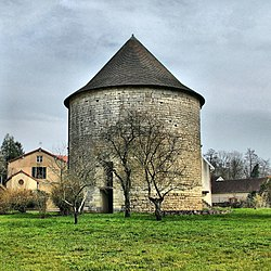 Tower of the former chateau