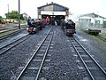 Outside the engine shed at New Romney - geograph.org.uk - 1291325.jpg