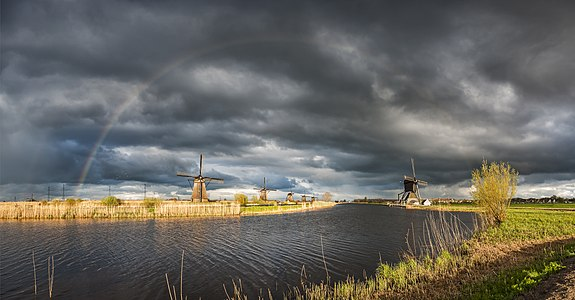 Overwaard Mill No.4, rainbow.jpg