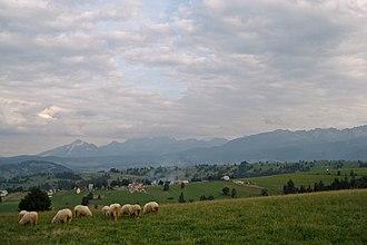 Sierockie - View from the pastures around Sierockie