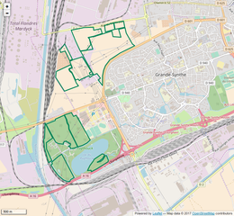 Plan Ville De Grande Synthe