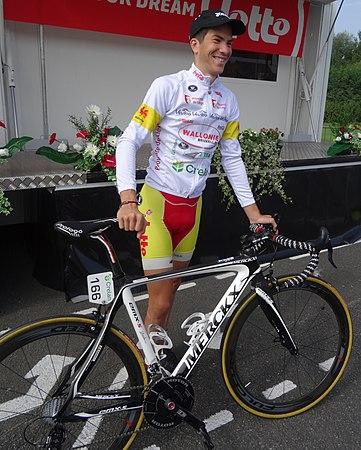 Péronnes-lez-Antoing (Antoing) - Tour de Wallonie, étape 2, 27 juillet 2014, départ (C013).JPG
