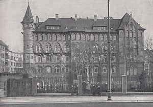Pestalozzi-Fröbel Haus - The Pestalozzi-Fröbel-Haus in c.1908
