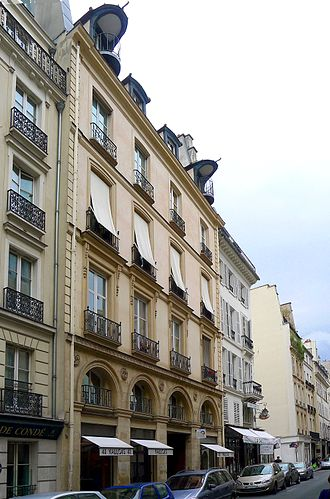 Rue de Seine - Number 41 Rue de Seine