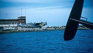 Naval Air Station Bermuda Annex - U.S. Coast Guard PBM-5Gs at NAS Bermuda in the 1950s.
