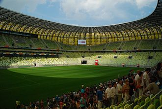 Lechia Gdańsk - Image: PGE Arena (5)