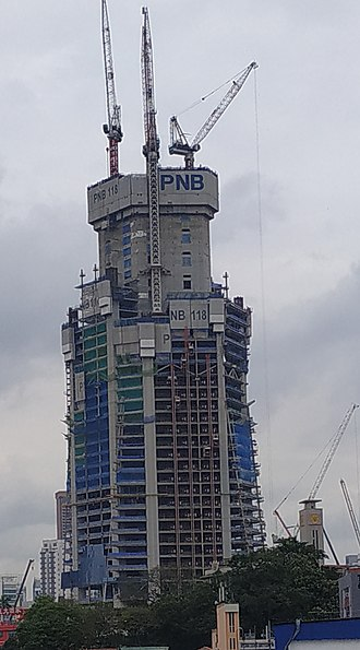 PNB 118 - Construction site in December 2018.