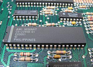 POKEY - Atari POKEY in an Atari 130XE