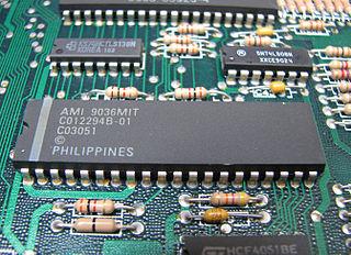 POKEY Digital I/O chip designed for the Atari 8-bit family of home computers