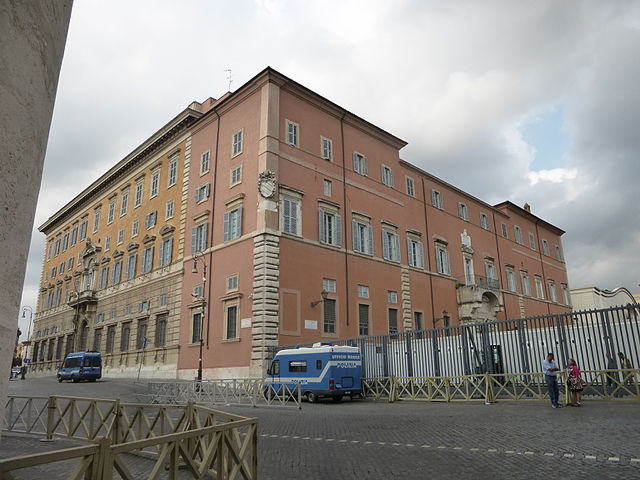 Дворец Священной Конгрегации в Риме. Фото 2015 года