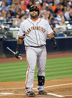 Pablo Sandoval - Sandoval with the Giants in 2013