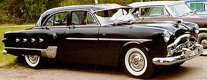 Packard Patrician 400 2552 four-door sedan 1952