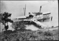 "Paddle steamer ""Mountaineer"" at Elfin Bay jetty on Lake Wakatipu ATLIB 338364.png"