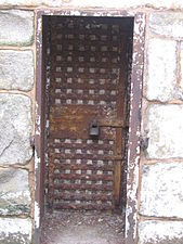 Padlocked Door, Eastern State Penitentiary.JPG