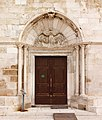 Pag Basilica of the Assumption of Mary Portal.jpg