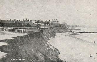 Pakefield - Image: Pake erosion 3