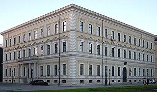 Palais Leuchtenberg building in Maxvorstadt, Upper Bavaria, Germany