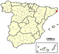 Palamós, Spain location Kopie.png