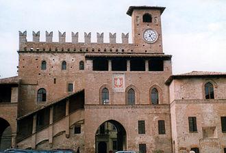 Castell'Arquato - Podestà Palace.